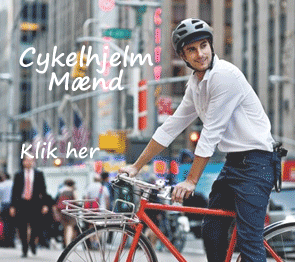 cykelhjelm til mand